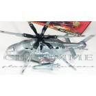 Helicóptero Modelo Attack Helicopter - Com Embalagem - COR PRATA - 4 Unidades