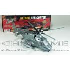 Helicóptero Modelo Attack Helicopter - Com Embalagem - COR PRATA