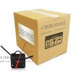 Mecanismo para relógio eixo 13 mm ( 5,5 mm rosca ) - Com alça - Embalagem com 500 unidades