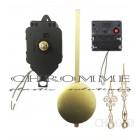05 Máquinas De Relógio De Pendulo Musical - Ponteiro Colonial Dourado