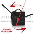 Mecanismo para relógio Funcionamento Anti Horário - Com alça - Embalagem com 10 unidades