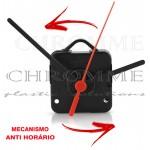 Mecanismo para relógio Funcionamento Anti Horário Continuo 13 m.m - Com alça - Embalagem com 10 unidades