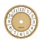Mostrador Para Relógio 12 cm - Dourado - EMBALAGEM COM 10 UNIDADES