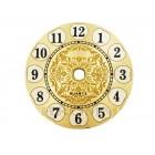 Mostrador Para Relógio em Alumínio 8 cm - Dourado CB - EMBALAGEM COM 10 UNIDADES