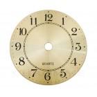Mostrador Para Relógio em Alumínio 8 cm - Dourado - EMBALAGEM COM 10 UNIDADES