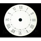 Mostrador Para Relógio 8 cm - Branco - EMBALAGEM COM 10 UNIDADES