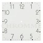 Mostrador Para Relógio 20 x 20 cm - Branco - EMBALAGEM COM 10 UNIDADES