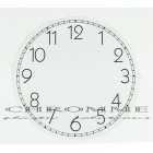 Mostrador Para Relógio 215 m.m - Redondo  Branco - EMBALAGEM COM 10 UNIDADES