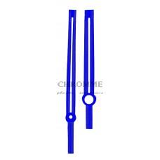 Ponteiro para relógio modelo Titanium - COR: AZUL - Embalagem com 10 unidades